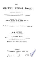 The advanced lesson book, by E.T. Stevens and C. Hole