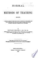 Normal Methods of Teaching
