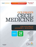Goldman's Cecil Medicine,Expert Consult Premium Edition -- Enhanced Online Features and Print, Single Volume,24