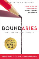 link to Boundaries : when to say yes, how to say no to take control of your life in the TCC library catalog