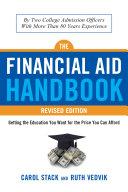 Financial Aid Handbook  Revised Edition