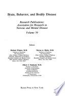 Brain, Behavior, and Bodily Disease