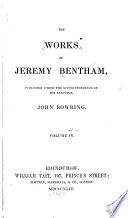 """""""The Works of Jeremy Bentham"""" by Jeremy Bentham, John Bowring"""