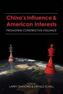 China's Influence and American Interests Pdf/ePub eBook