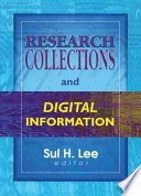 Research Collections And Digital Information