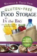 Gluten Free Food Storage