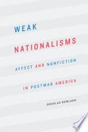 Weak Nationalisms Book PDF