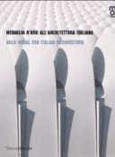 Gold medal for Italian architecture 2006