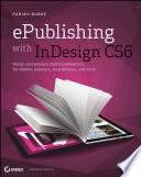 Epublishing With Indesign Cs6