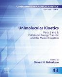Unimolecular Kinetics