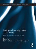 Justice and Security in the 21st Century Pdf/ePub eBook
