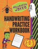Halloween Jokes Handwriting Practice Workbook