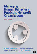 Managing Human Behavior in Public and Nonprofit Organizations Pdf/ePub eBook