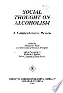 Social thought on alcoholism