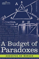 A Budget of Paradoxes Book