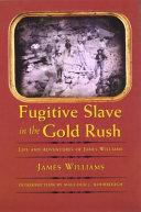 Fugitive Slave in the Gold Rush