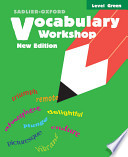 Vocabulary Workshop  : Level Green