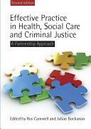 Effective Practice in Health, Social Care and Criminal Justice Pdf/ePub eBook