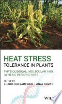 Heat Stress Tolerance in Plants Book