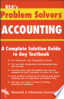 """""""Accounting Problem Solver"""" by William D. Keller"""