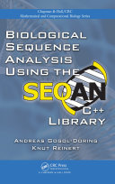 Biological Sequence Analysis Using the SeqAn C   Library