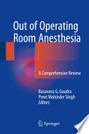 Out of Operating Room Anesthesia