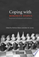 Coping with Minority Status Book
