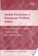 Social Exclusion in European Welfare States Book