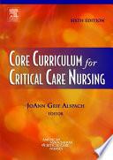 Core Curriculum For Critical Care Nursing E Book Book PDF