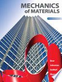 Mechanics of Materials, 7th Ed, Beer-Johnston-DeWolf-Mazurek, 2015