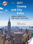 County and City Extra 2017  : Annual Metro, City, and County Databook