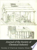Journal of the Society of Chemical Industry Book