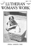 Pdf Lutheran Woman's Work