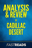 Analysis and Review of Cadillac Desert