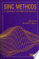 Sinc Methods For Quadrature And Differential Equations