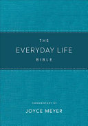 The Everyday Life Bible Teal LeatherLuxe