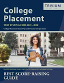 College Placement Test Study Guide 2019 2020