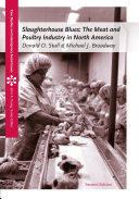 Pdf Slaughterhouse Blues: The Meat and Poultry Industry in North America Telecharger