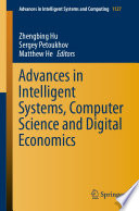 Advances in Intelligent Systems, Computer Science and Digital Economics
