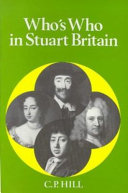 Who s who in Stuart Britain