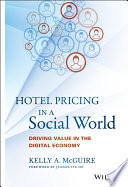 Hotel Pricing in a Social World Book