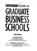 Barron S Guide To Graduate Business Schools Book PDF