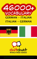 46000+ German - Italian Italian - German Vocabulary