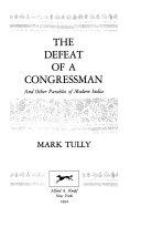 The Defeat of a Congressman Book PDF
