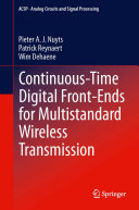 Continuous Time Digital Front Ends for Multistandard Wireless Transmission