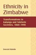 Ethnicity in Zimbabwe