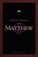 Exegetical Commentary On Matthew Book PDF