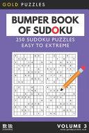 Gold Puzzles Bumper Book of Sudoku Volume 3