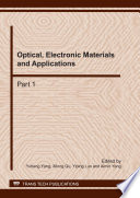 Optical  Electronic Materials And Applications