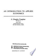 An Introduction to Applied Economics
